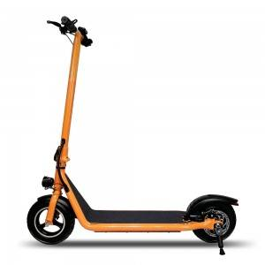 M100 Front Suspension 10 inch Orange Electric Scooter