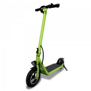 M100 Front Suspension 10 inch Green Electric Scooter
