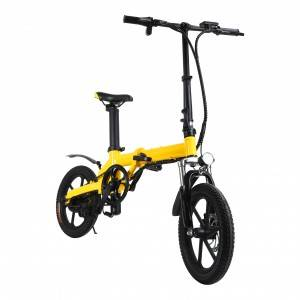 VB160 Pedal Seat Available 16 inch Foldable Electric Bike