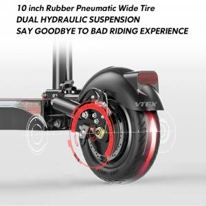 VK101 High End Dual Suspension Dual Brake 10 inch Electric Scooter