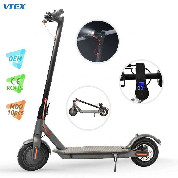 M6 Public Tooling Strong 8.5 inch Black Electric Scooter Featured Image