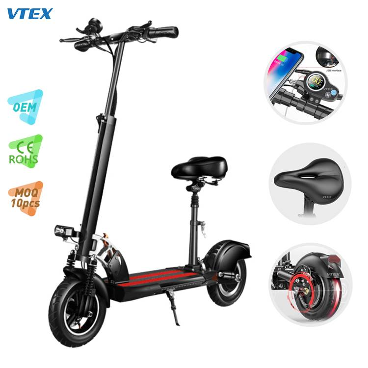 VK101 High End Dual Suspension Dual Brake 10 inch Electric Scooter Featured Image