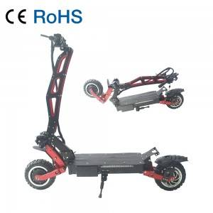 109T Off Road 3200W Dual Drive High Speed Electric Scooter