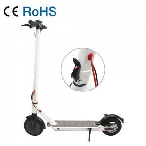 M6 Public Tooling Strong 8.5 inch White Electric Scooter