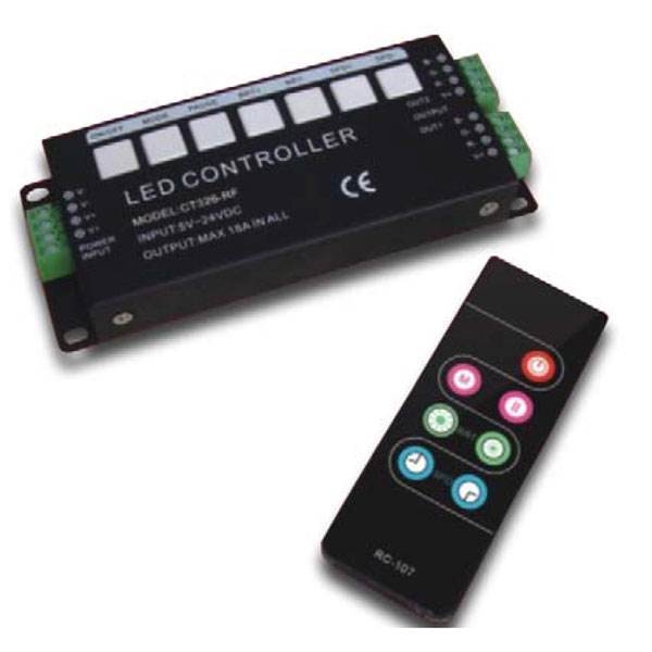 Europe style for 40w Dali Led Power Supply - 6A*3ch RF 5-24VDC LED Wireless Controller – Euchips