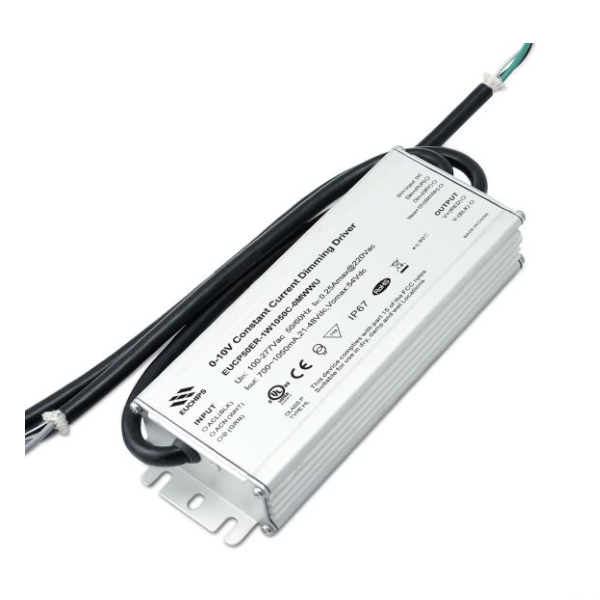 OEM Manufacturer Linear High Bay Warehouse Light - 50W Constant Current Waterproof LED Driver – Euchips