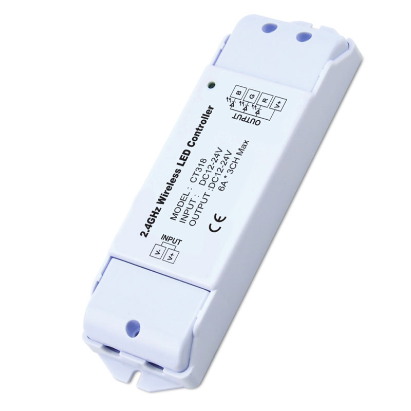6A*3ch 2.4GHz 12-24VDC Wireless Controller