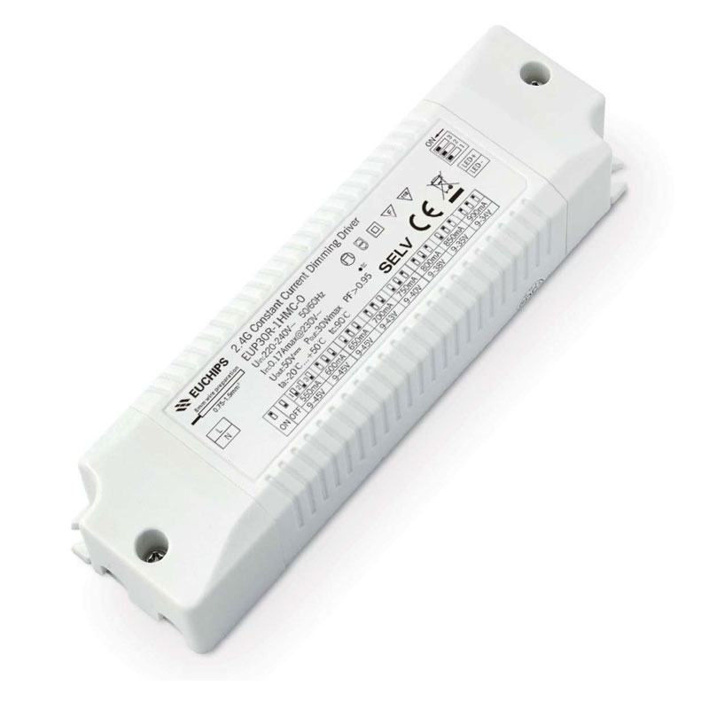 30W 550/600/650/700/750/800/850/900mA*1ch 2.4G CC LED Driver Featured Image