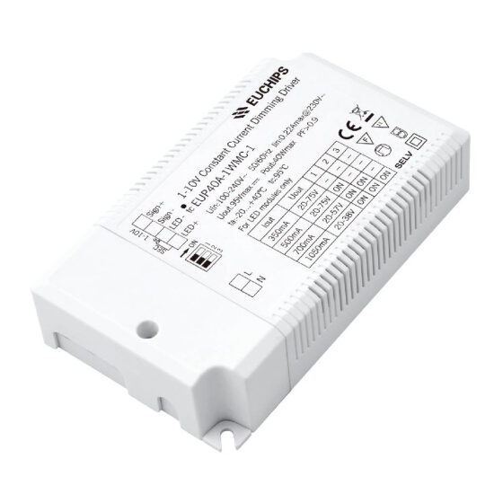 40W 350/500/700/1050mA CC 1-10V Driver Featured Image