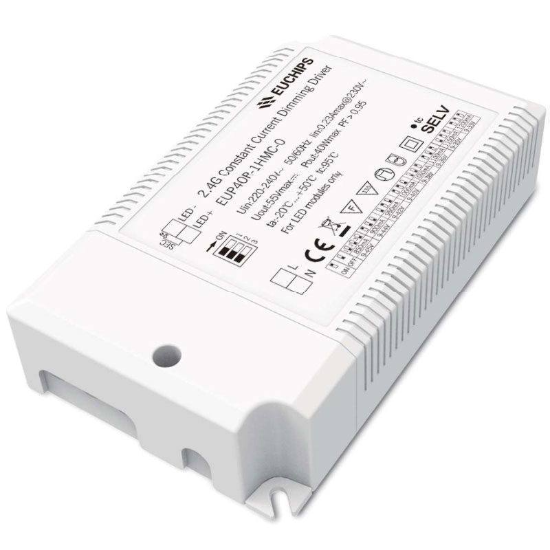 40W 850/900/950/1000/1050/1100/1150/1200mA*1ch 2.4G Constant Current LED Driver