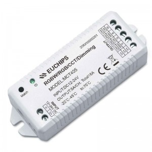 5A*4ch 2.4G RGBW Controller MCT405