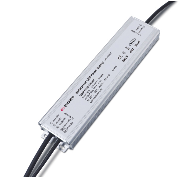 100W 24VDC Ultra-thin Waterproof DALI CV Driver Featured Image