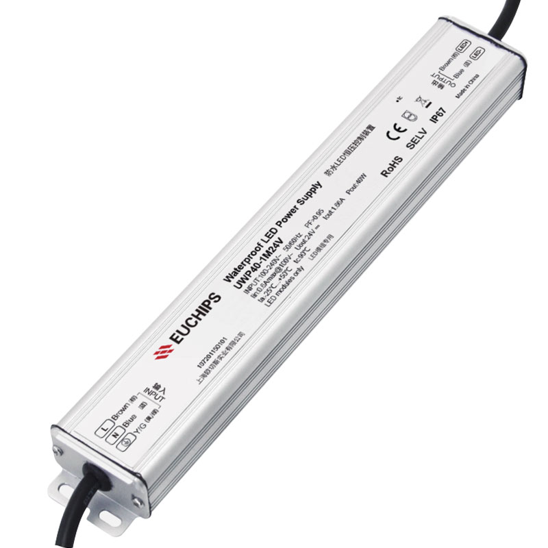 40W 24VDC Non-dimmable CV LED Driver
