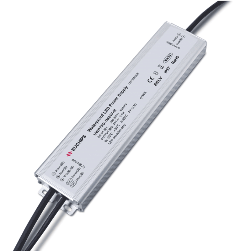 75W 24VDC Ultra-thin Waterproof DALI CV Driver Featured Image