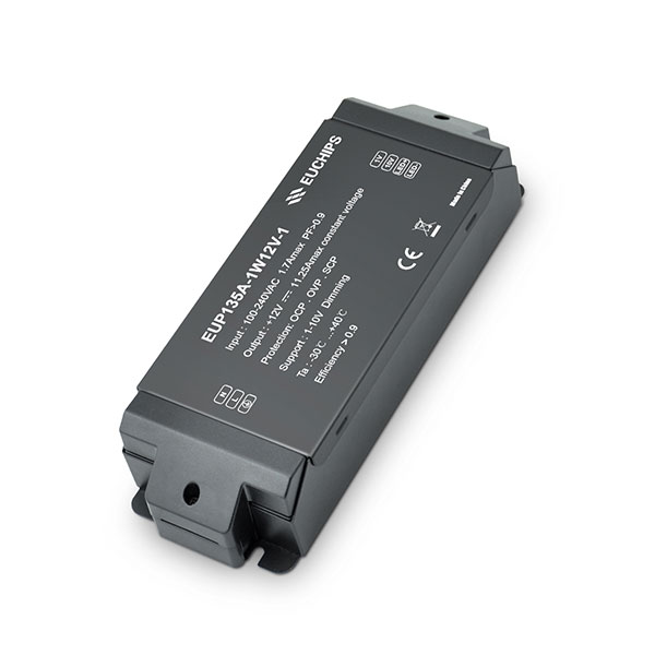 135W 12VDC 11.25A*1ch CV 1-10V Driver Featured Image