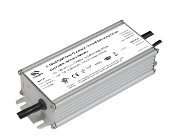 100% Original Factory 100w Cv Triac Dimmer Driver - 75W Constant Current Waterproof LED Driver – Euchips