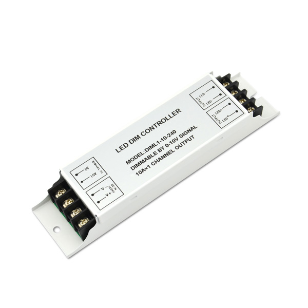 Cheapest Price Dc12-36v Led Dimming Driver - 12-24VDC 10A*1ch CV 0-10V Dimmer – Euchips