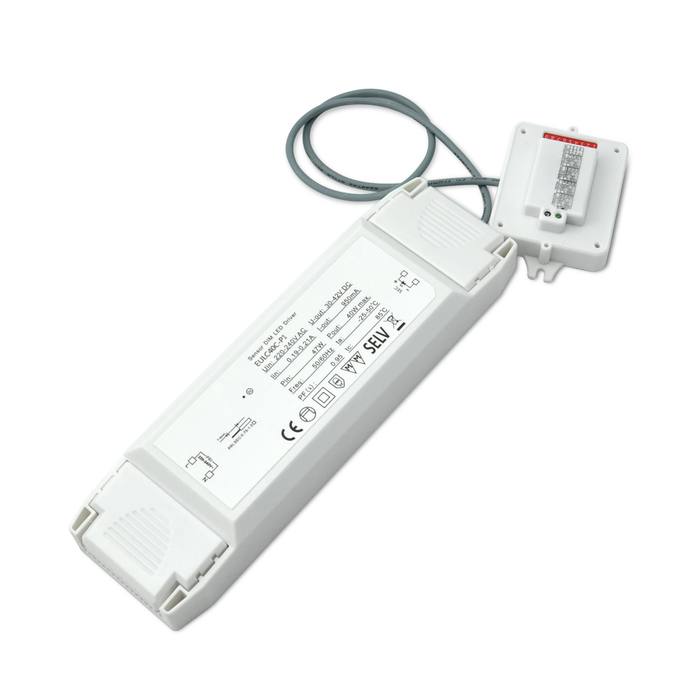 Lowest Price for Led Remote Rgb Controller - [out of stock]100-277VAC Motion Sensor Dimmable LED Driver – Euchips