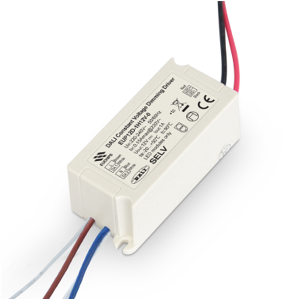 China Factory for Cv Dali Dimming Driver - 12W 12VDC 1A*1ch CV DALI Driver – Euchips