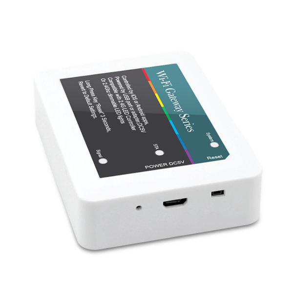 China New Product Mini Dmx Controller - 5VDC 2.4Ghz Gateway LED WIFI Controller – Euchips