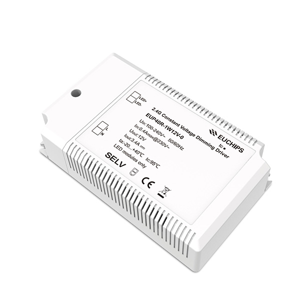 Supply ODM 8 Channel Dimmer – 40W 3.4A*1ch 12VDC 2.4G CV LED Driver – Euchips