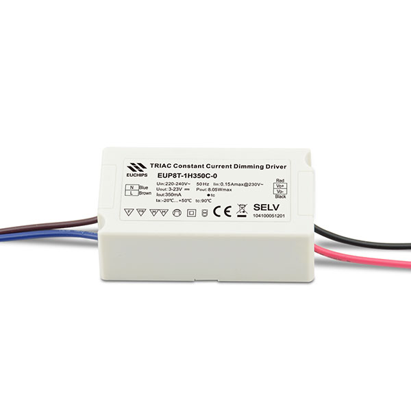 350mA 8W Triac CC LED Dimmable Driver