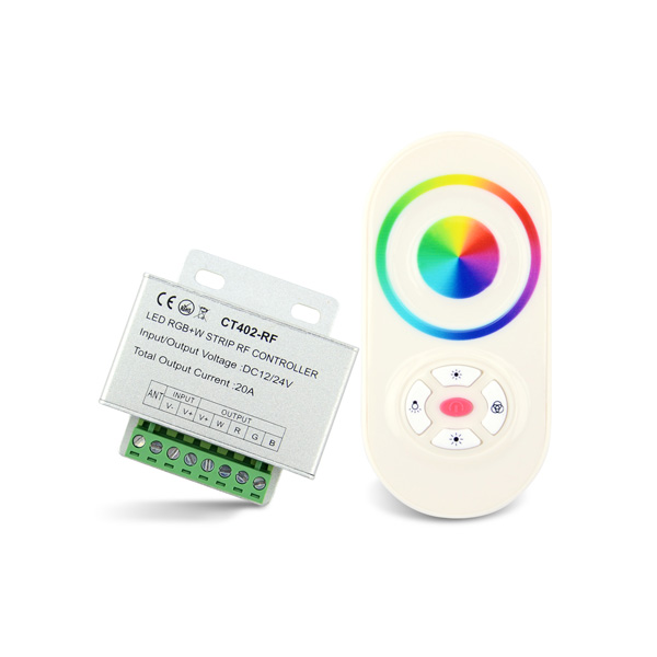 Reasonable price for Ac Dmx512 Dimmer - 5A*4ch RF 12-24VDC LED Wireless Controller – Euchips