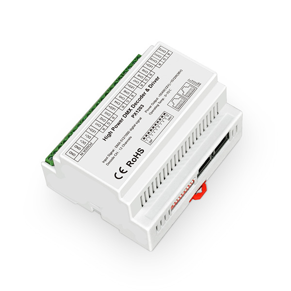 Professional Factory for Dali Led Dimmer 230v - 12-36VDC 3.5A/ch CV DMX Decoder – Euchips