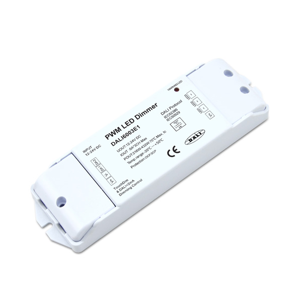 Reasonable price for Rgbw Led Dmx Decoder - 12-24VDC 6A*3ch TouchDIM CV DALI Decoder – Euchips