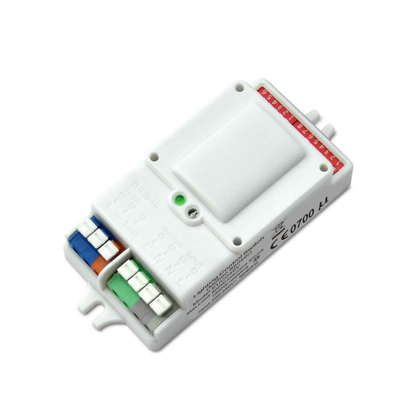 OEM Customized Light Dimmer Controller - 220-240VAC 1-10V Dimming Motion Sensor – Euchips Featured Image
