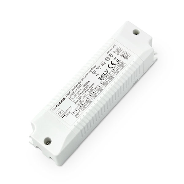 Personlized Products Led Dimming Driver - 20W 350/400/450/500mA*1ch CC Triac Driver – Euchips