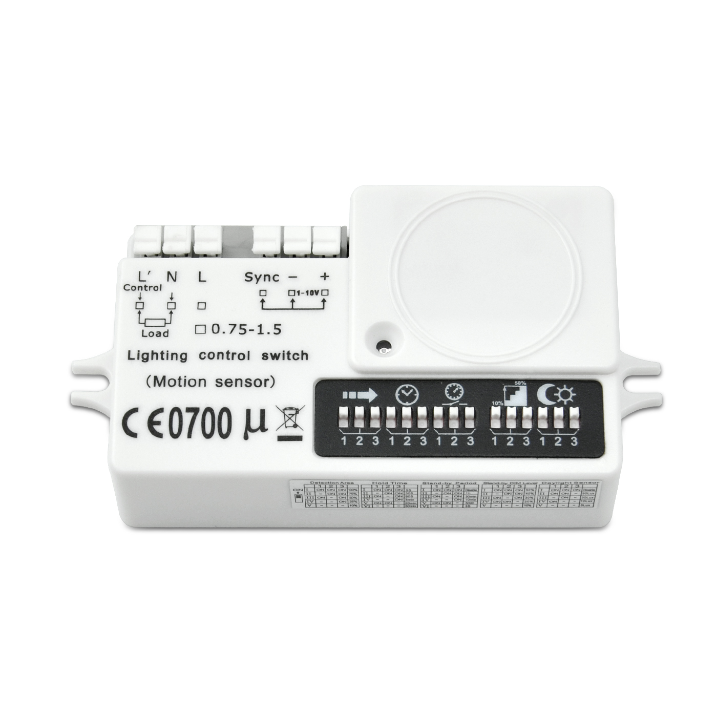 Fixed Competitive Price Led Wraparound Fixture - [out of stock]220-240VAC 1-10V Dimming Motion Sensor – Euchips