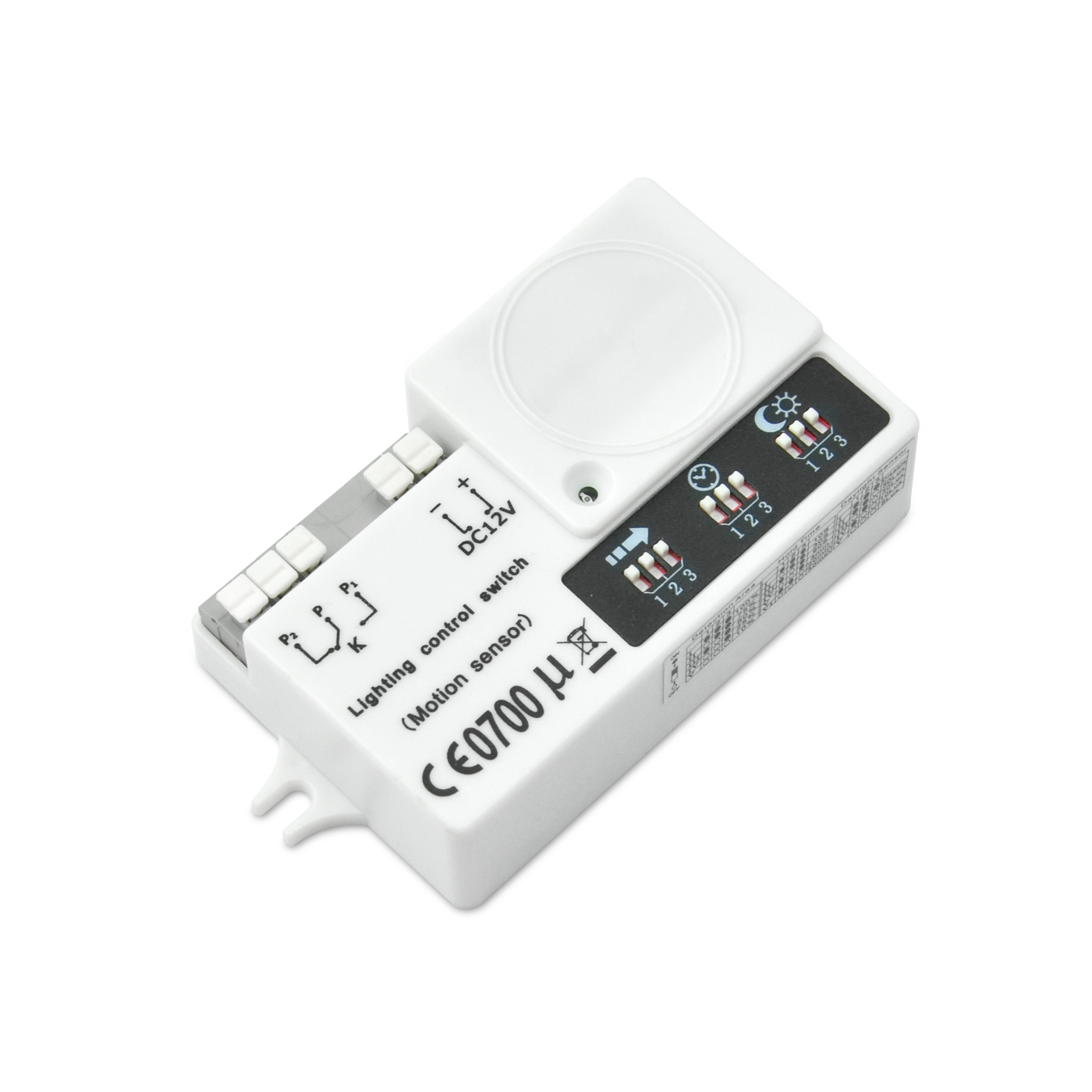 Good Quality 45w 12v Power Led Driver - [out of stock]12VDC dry contact motion detector – Euchips