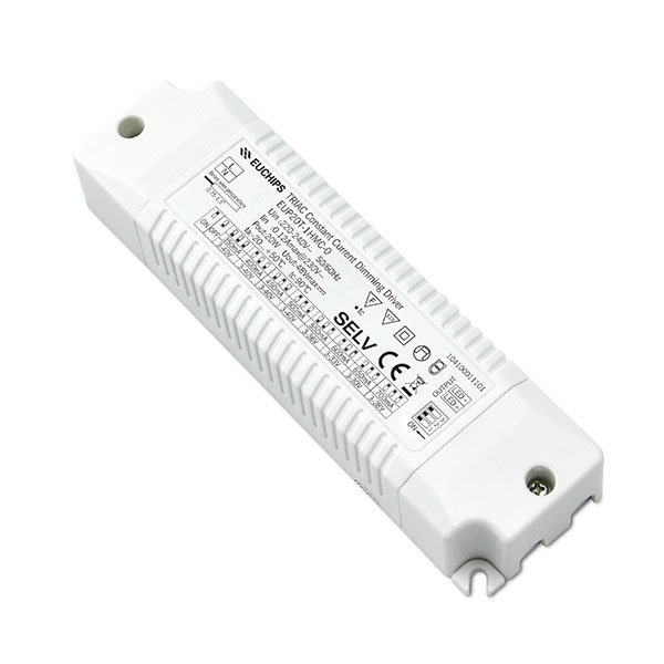Manufacturer for 60w 12v Led Power Supply - 20W 350/400/450/500mA*1ch CC Triac Driver – Euchips