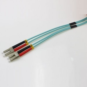 LC UPC-LC UPC MM DX OM3 2.0mm Patch Cord