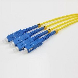 SC UPC-SC UPC SM SX 2.0mm Patch cord