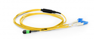 TRUNK CABLE MTP FEMALE TO 4 LC PC DUPLEX 8 CORES SINGLEMODE 9 /125 OS2