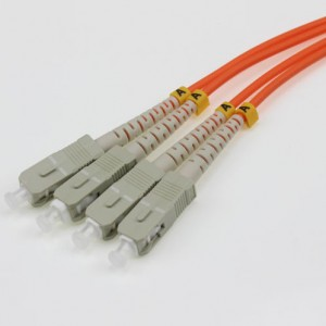 SC UPC-SC UPC MM SX 3.0mm Patch Cord