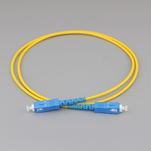 SC/PC to SC/PC Simplex G657A2 9/125 Singlemode PVC Fiber Patch Cable Featured Image