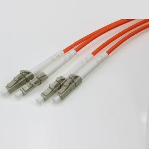 LC UPC-LC UPC SM SX OM1 3.0mm Patch Cord