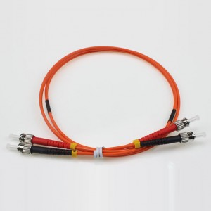 ST UPC-ST UPC MM DX OM2 Patch Cord 2,0 milímetros