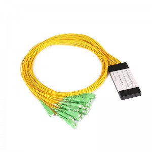 1*16 SC/APC PLC Optical Fiber Splitter