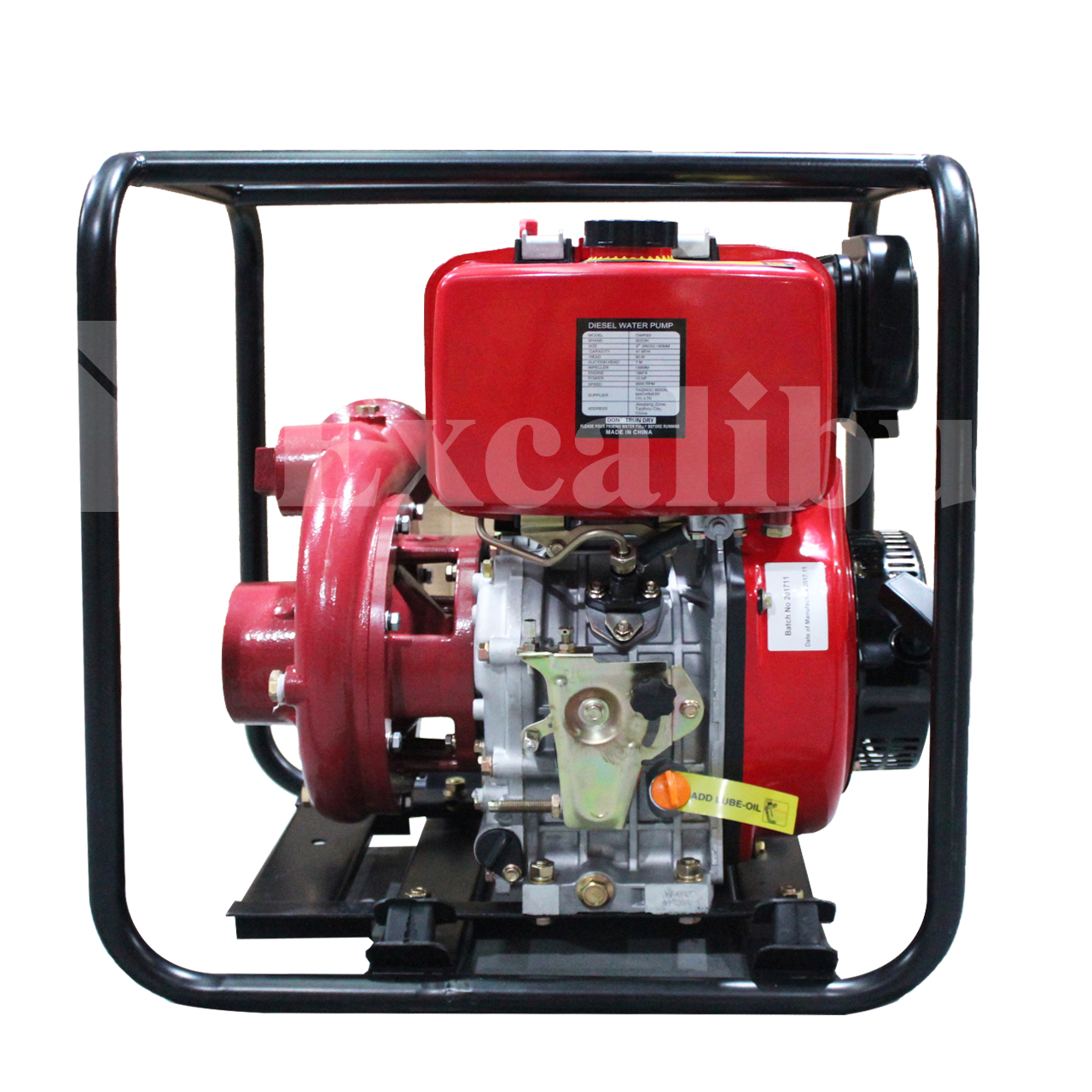 High Pressure Cast Iron Water Pump SHP80DI(E)