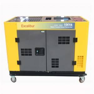 Factory directly supply 3.3kva Silent Diesel Generator -