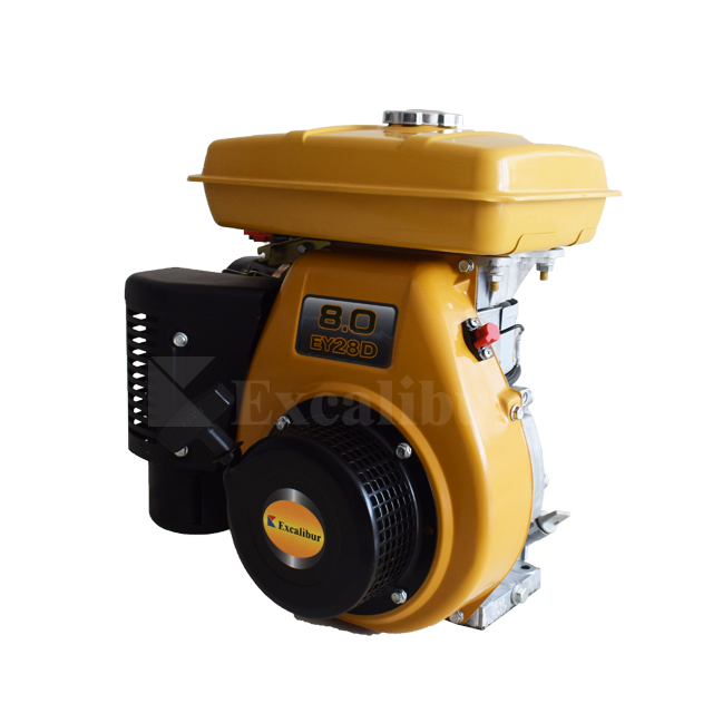 7.5HP Petrol Engine single cylinder 4-stroke gasoline engine air cooled EY28