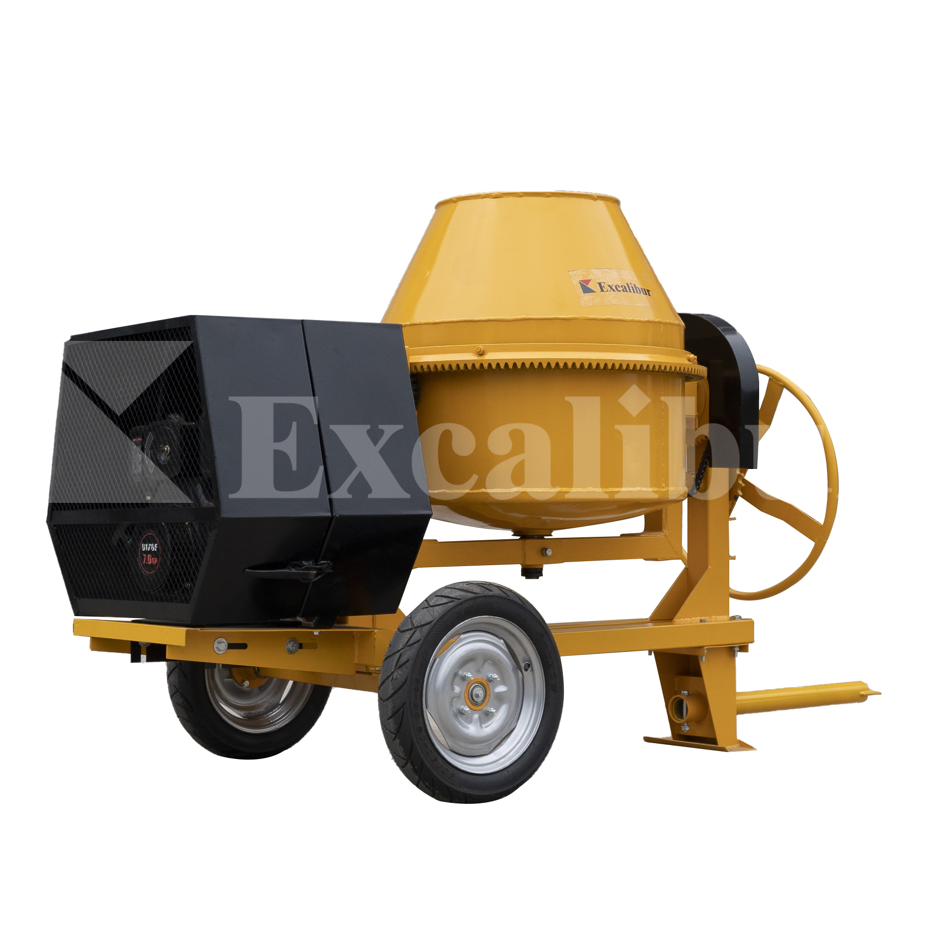 Cement Mixer 260L 350L 400L 450L 500L with diesel engine 178F