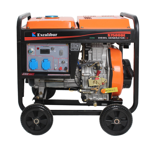 Price Of 7kw 6.5kw Open Frame Diesel Generator