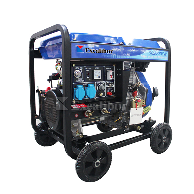 Excalibur Air Cooled Diesel Engine Welding Generator Prices S6500DEW