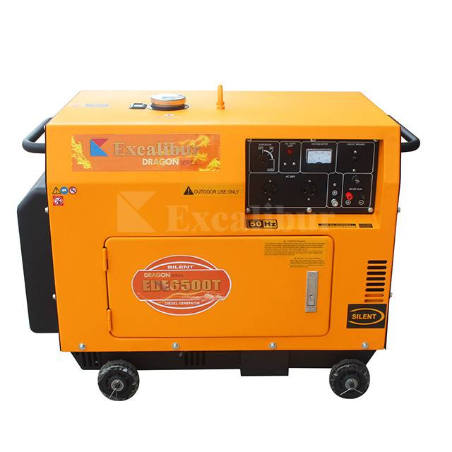 EDE6500T Silent Diesel Generator 5kw Featured Image