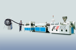 PriceList for Pen Refill Tube Making Machine - PE carbon Spiral pipe production line – Xindacheng Plastic